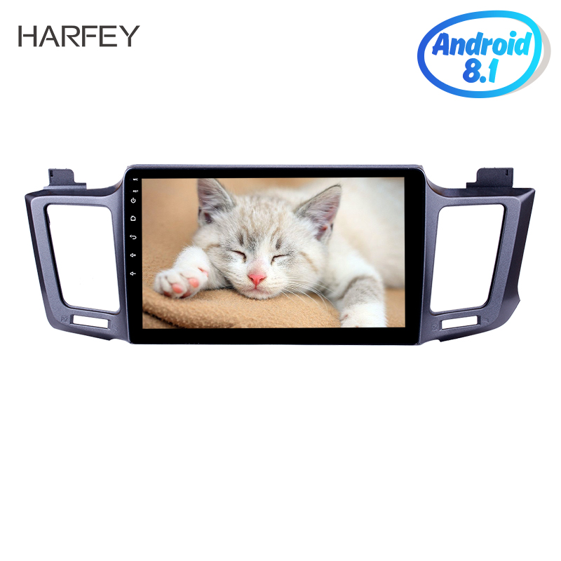 Harfey for 2013 2016 Toyota RAV4 10 1 Android 8 1 GPS Navi Car with Touch