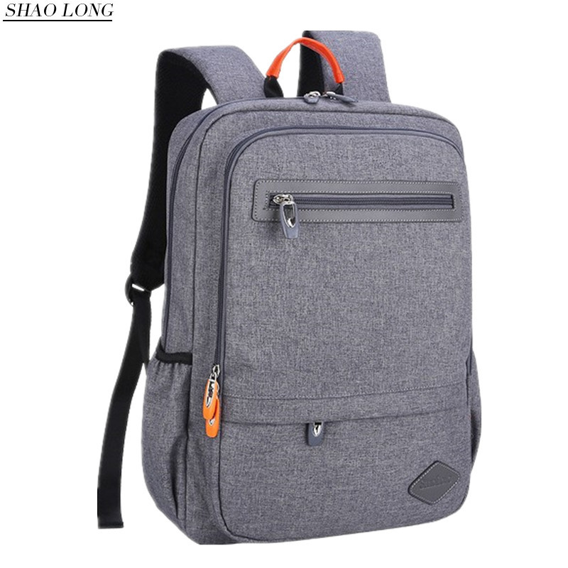 New Men Laptop Backpack 14 15.6 Inch Waterproof Nylon Business Backpacks Casual Travel Rucksack Women Schools Bags For Teenagers 2017 new men women laptop backpack mochila masculina high quality nylon men s backpacks backpack for teenagers men s travel bags