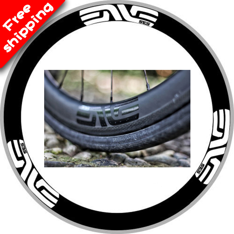 SES Wheelset rim stickers For 700C Clincher 35mm 40mm 50mm 60mm rim depth Carbon Road Bike bicycle SES race replacement decals