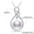 Daimi 2017 novo 9.5-10mm big pearl pendant 925 sterling silver pérola de água doce pingente de alta qualidade da marca de jóias