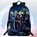 2016 New Style 16-inch Prints Avengers Cool Children Backpack Hero Boys School Bags Kids School Backpacks Students Mochila Bag