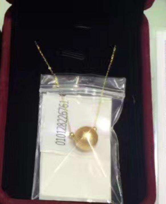New fashion 12mm sud mare naturale oro rotondo perla necklace18 14 kNew fashion 12mm sud mare naturale oro rotondo perla necklace18 14 k