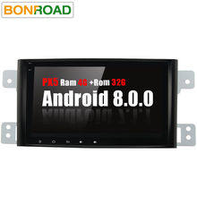 "Bonroad 8""Android 8.0 Car Multimedia player For Suzuki Grand Vitara 2008-2013 Radio GPS Navigation Video Audio Player wifi BT(China)"