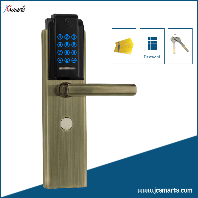 Digital keypad lock apartment keyless door knob pin code door lock ...