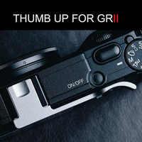 Aluminum Thumb UP Metal Thumb Rest Thumb Grip For Ricoh GR GRII FUJIFILM GR2 Hot Shoe Cover