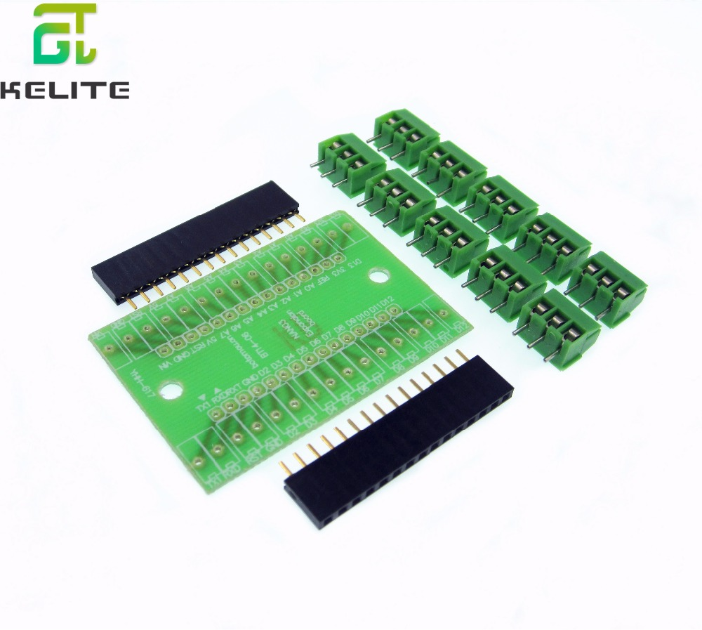 1set NANO 3.0 Controller Terminal Adapter Expansion Development Board Nano3.0 Version Diy Kit