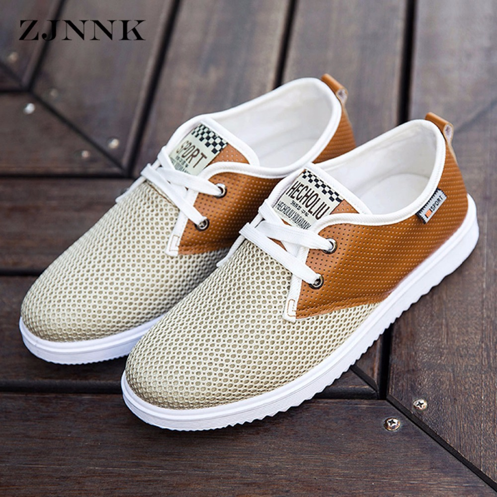 zjnnk hot sale men summer shoes breathable male casual shoes fashion chaussure homme soft. Black Bedroom Furniture Sets. Home Design Ideas