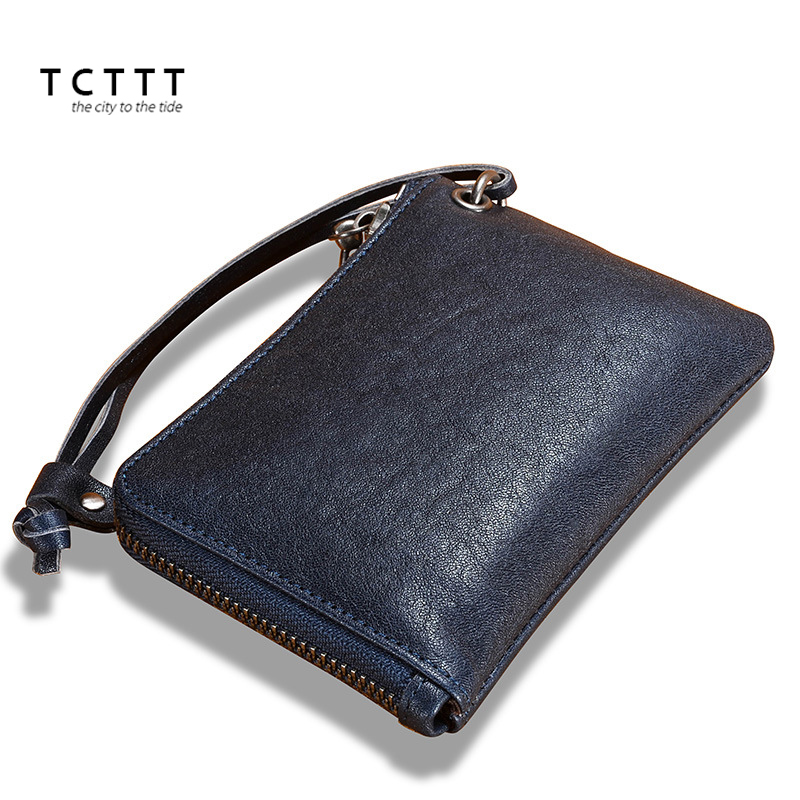 TCTTT Genuine leather womens wallets and purses Fashion Female Short Colorful Zipper wallet Luxury Brand Clutch Coin Card Holder new korea fashion small women wallet and purses luxury brand plaid zipper female wallets leather wallet for girls