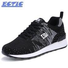 2017 ectic zapatos para correr transpirable, super ligero zapatillas de vestir hombres athletic shoes, marca sport zapatos corrientes de los hombres del zapato