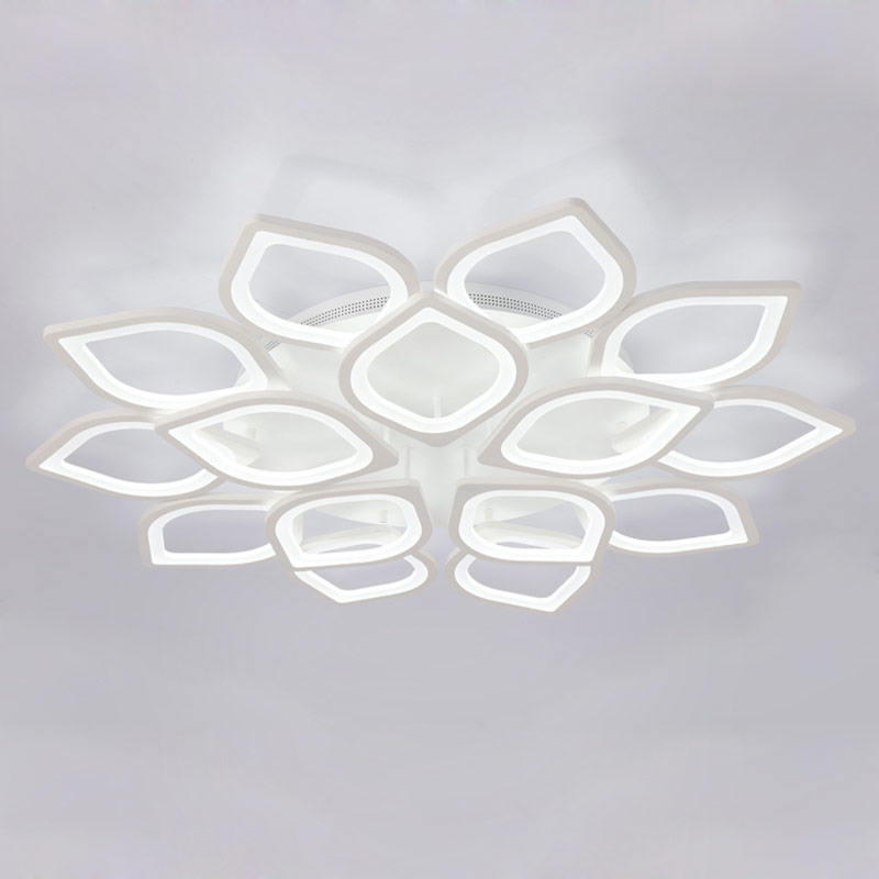 Modern Acrylic Led Ceiling Chandelier With Remote Control Living Room Bedroom Lamp Light Fixtures Decoration Home Lighting 220V vemma acrylic minimalist modern led ceiling lamps kitchen bathroom bedroom balcony corridor lamp lighting study