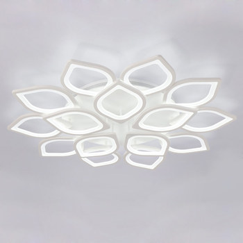 Modern Acrylic Led Ceiling Chandelier With Remote Control Living Room Bedroom Lamp Light Fixtures Decoration Home Lighting 220V