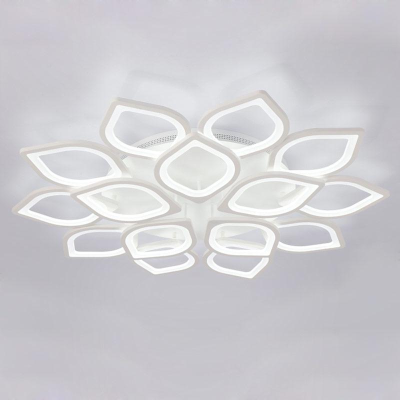Moderne Acryl Led Decke Kronleuchter Mit Fernbedienung Wohnzimmer Schlafzimmer Lampe Leuchten Dekoration Hause Beleuchtung 220 v
