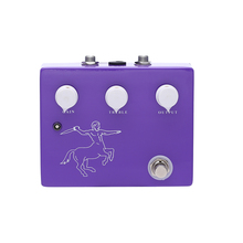 Mini aluminum box over drive guitar effect pedals true bypass klon overdrive for lover