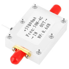 1pc RF Amplifier Low Noise Amplifier Ham Radio Module LNA 50M-4GHz NF=0.6dB RF FM HF VHF / UHF Ham Radio -110dBm(China)