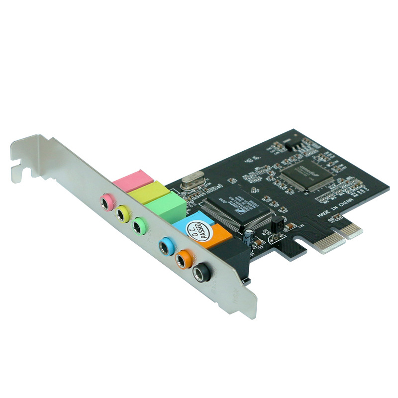 PPYY NEW -<font><b>Pci</b></font> <font><b>Express</b></font> <font><b>X1</b></font> <font><b>Pci</b></font>-E 7.1 Channels Spdif Via Chipset Audio Digital Sound Card image