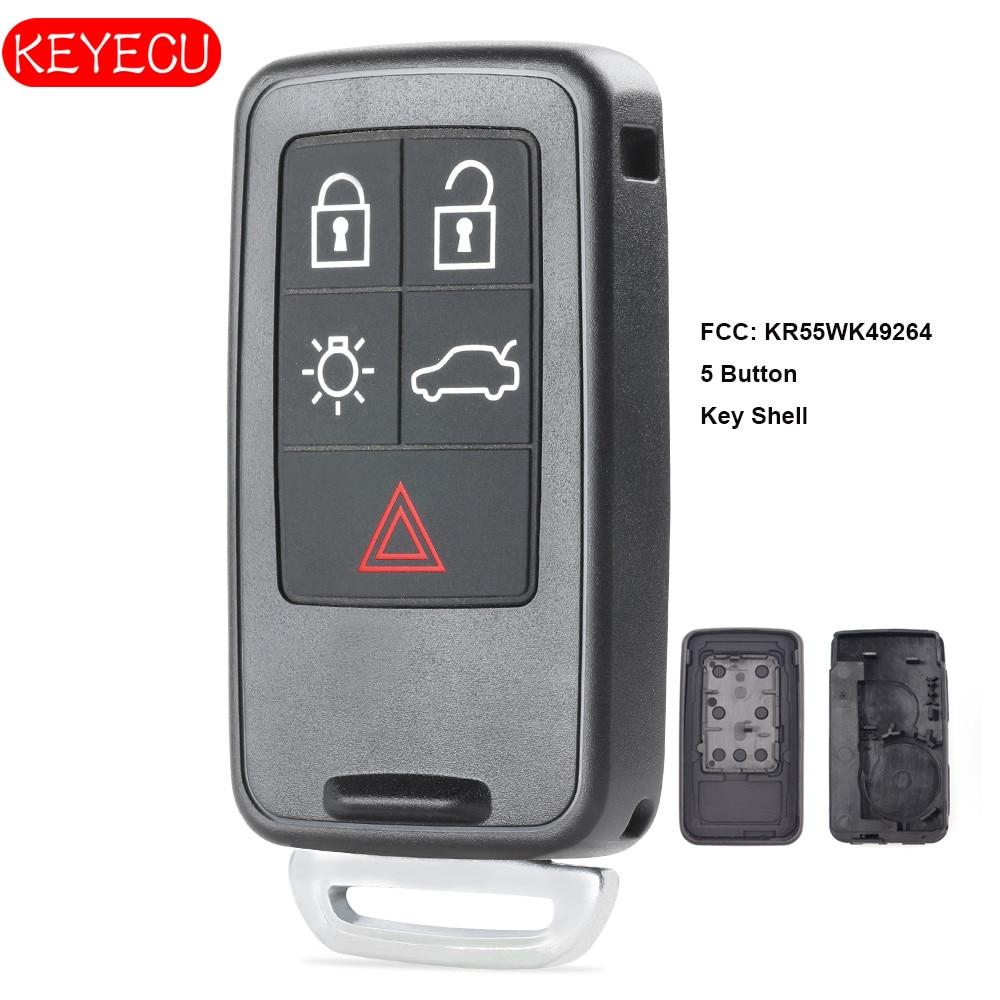 Original Remote Key Shell For Volvo S40 C30 C70 Keyless Entry Fob 4 1