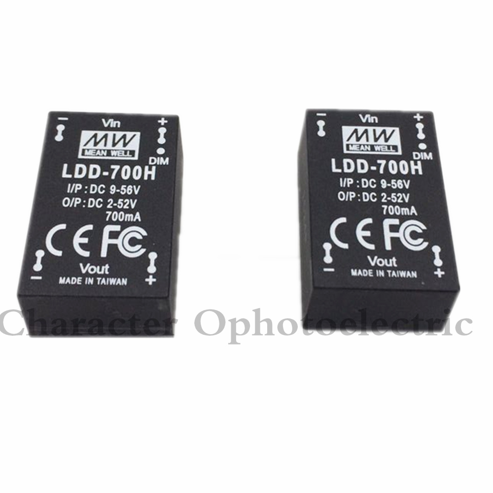 10pcs Meanwell LDD 350H 500H 600H 700H 1000H DC - DC Constant Current Step-Down LED Driver