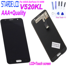 For ASUS ZenFone 5 V A006 V520KL LCD Display + Touch Screen Digitizer Assembly for ASUS ZenFone 5 V A006 Full Screen original cell phone lcd display touch screen digitizer assembly for asus zenfone 5 a500cg a501cg t00j t00f 5 0 lcd tools