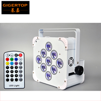 China TITPOP New 9x18W American DJ Par Cans Battery Powered Built In 2.4G Wireless Receiver Infrared Control RGBWAUV 6IN1 Color