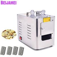 BEIJAMEI Free Shipping Commercial Medicine Ginseng Slicer Ginseng Herb Mill Chinese Slicing Herb Cutter Machine