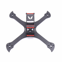 Kamaitachi 220mm FPV Racing RC Drone X Frame Kit 4mm Arm Carbon Fiber for RC Racing Camera Drone Diy Accessories
