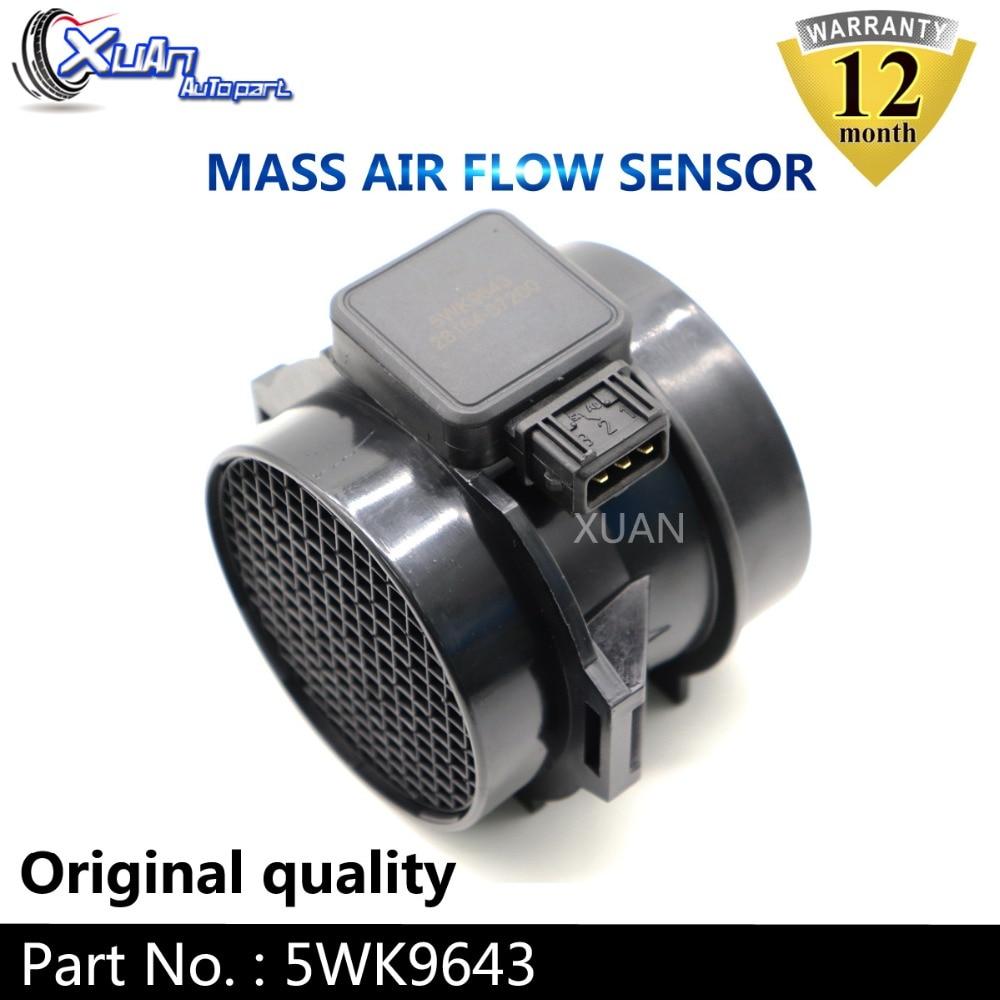 VW Transporter MK5 2.5 TDi Variant1 Genuine ACP Air Mass Sensor MAF Flow Meter