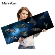 Maiyaca лучшая игра на заказ коврик для мыши с желтым светильник