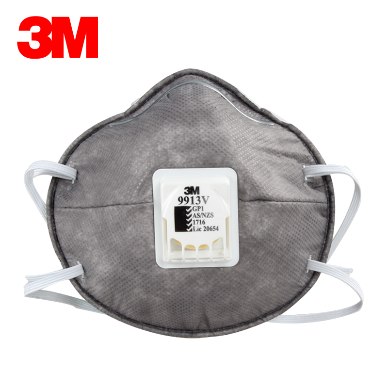 3m Protective Matter As Breathing Anti Kn90 nzs Non-oily Valve H012915 la 9913v Particulate Dust Mask Masks
