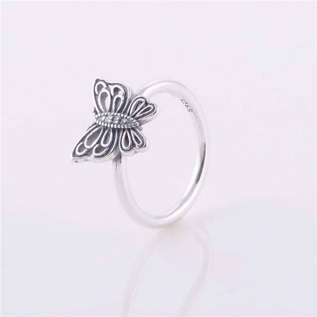 anello pandora farfalla