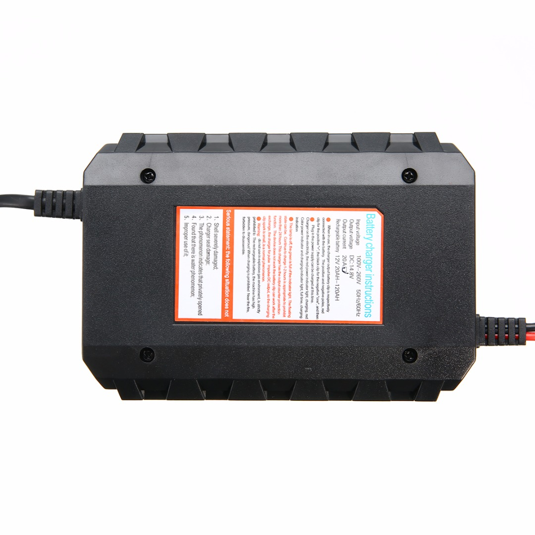 Intelligent 12v 20a Car Motorcycle Automobile Lead Acid Battery Low Power Negative Supply Charger Digital Display Auto Styling On Alibaba Group