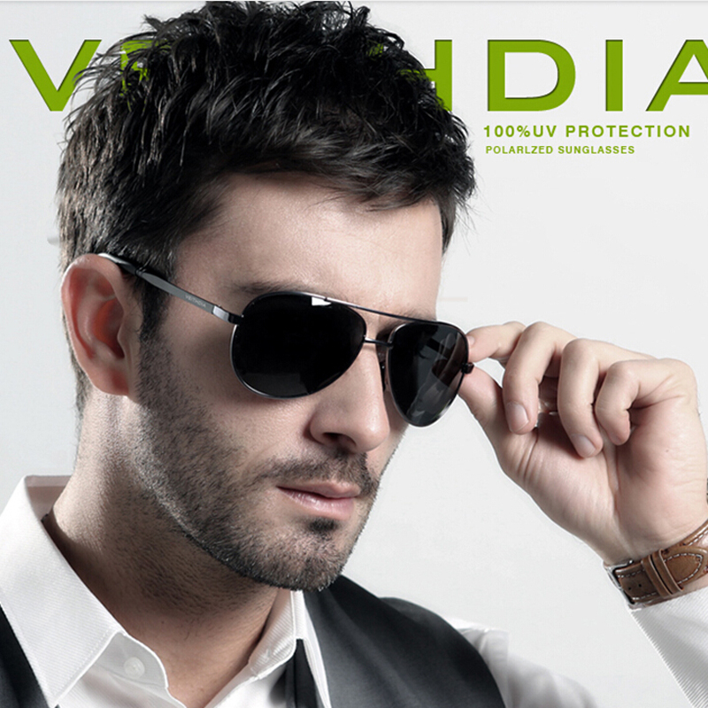 VEITHDIA Brand Unisex Sunglasses Polarized For Men Women UV400 Sun Glasses oculos de sol masculino Eyeglasses
