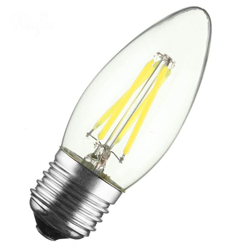 T10 E26 E27 4w Led Vintage Antique Filament Light Bulb: LightInBox Bulb Dimmable 400Lumen Chandelier Candelabra