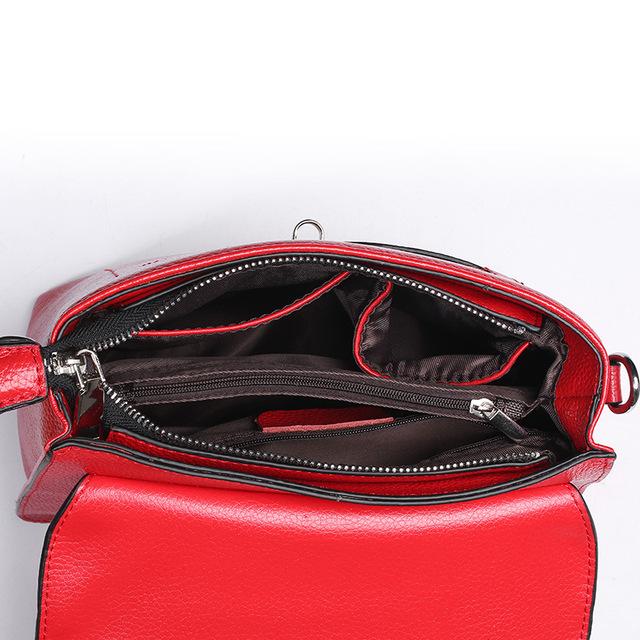 ZENCY Women Small Leather Bags Female Luxury Famous Brands Handbag Genuine Leather Tote Shoulder Messenger Bag Purse