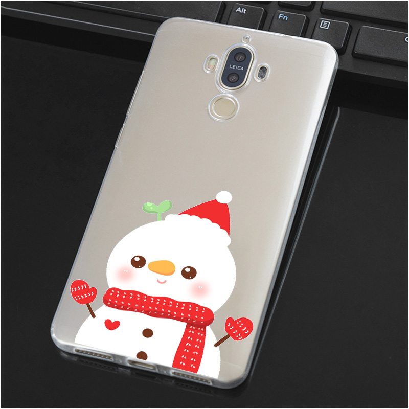 Christmas Present Soft TPU Silicone Case Cover For Huawei Mate G 7 8 9 10 Nova 2 Lite Pro Plus
