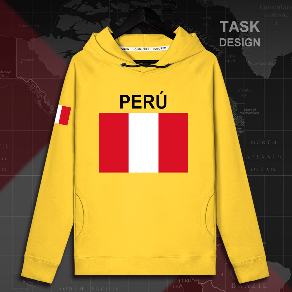 Men's Clothing Beautiful Peru Peruvian Pe Per Mens Fleeces Hoodies Winter Jerseys Men Coats Jackets And Tracksuit Clothes Casual Nation Country New 2018