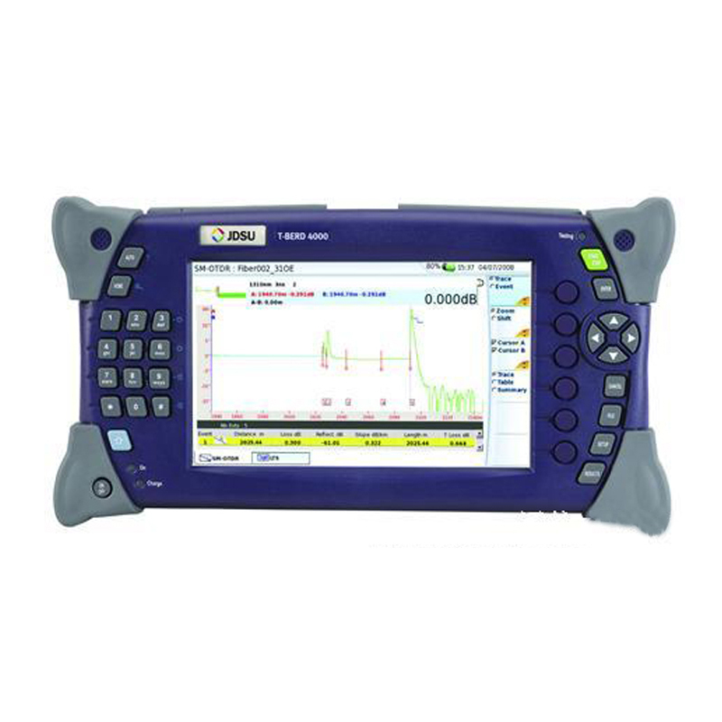 MTS-4000 Optical Time Domain Reflectometer Fiber Optic 1310nm / 1550nm 32dB/30dB Breakpoint Tester Fault Locator