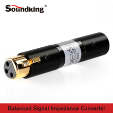 Soundking Impedance Conversion Audio XLR(F)-XLR(M) Cable Jack High Quality Rca 2017 C53
