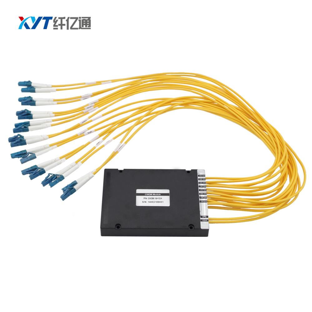 LC SC FC Fiber optic Equipment Multiplexer Single fiber 18 channel CWDM MUX or DEMUXLC SC FC Fiber optic Equipment Multiplexer Single fiber 18 channel CWDM MUX or DEMUX