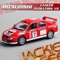1 пк 1:36 12,5 нежный KINSMART mitsubish EVO7 WRC моделирование модель сплав автомобиль домашнее украшение подарок игрушка