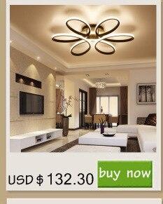 Schwarz/Weiß Moderne Führte Deckenleuchten Für Wohnzimmer Schlafzimmer  95 265 V Innenbeleuchtung Deckenleuchte Leuchte Luminaria Teto