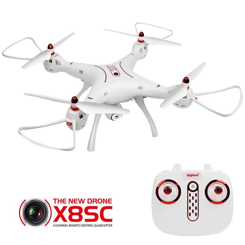 SYMA X8SC RC Дроны с Камера HD Профессиональный Квадрокоптер Радиоуправляемый вертолет 2,4 г 4CH Дрон Headless режим игрушки для детей подарки