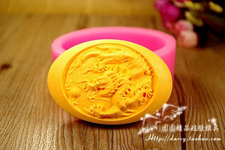 Dragon silikonové mýdlo formy DIY Handmade Craft 3D mýdla formy S276