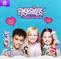 Happy Monkey Pack Finger Monkey Smart Induction Toys Finger Monkey Christmas Gift Kids Electronic Pets Toys