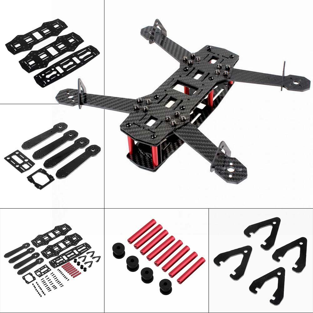 Glass Fiber Mini 250 FPV Quadcopter Frame Mini 4 Axis H Quad Frame for QAV250 Quadcopter Frame Toy zmr250 250mm carbon fiber 4 axis 250 mm fpv quadcopter mini h quad frame for qav250