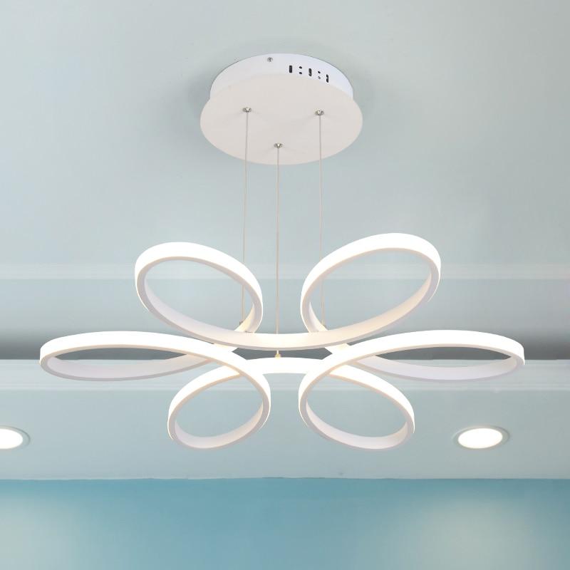 Современное искусство led кольцо подвесные светильники для столовой Бар лампа