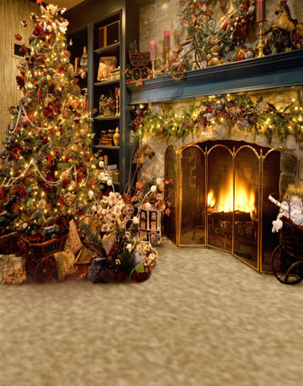 10x10ft background custom photography studio backdrop - Where to put christmas tree in small living room ...