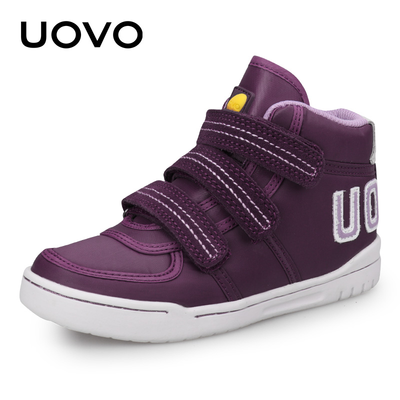 UOVO 2019 New Arrival Kids Casual Shoes Girls Sneakers Mid-Cut Fashion Children Rubber School Shoes Kids Footwear Size #28-38UOVO 2019 New Arrival Kids Casual Shoes Girls Sneakers Mid-Cut Fashion Children Rubber School Shoes Kids Footwear Size #28-38
