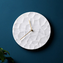 Silicone Mold Concrete-Wall-Clock Cement Manual Bedroom Living-Room Circular-Pattern