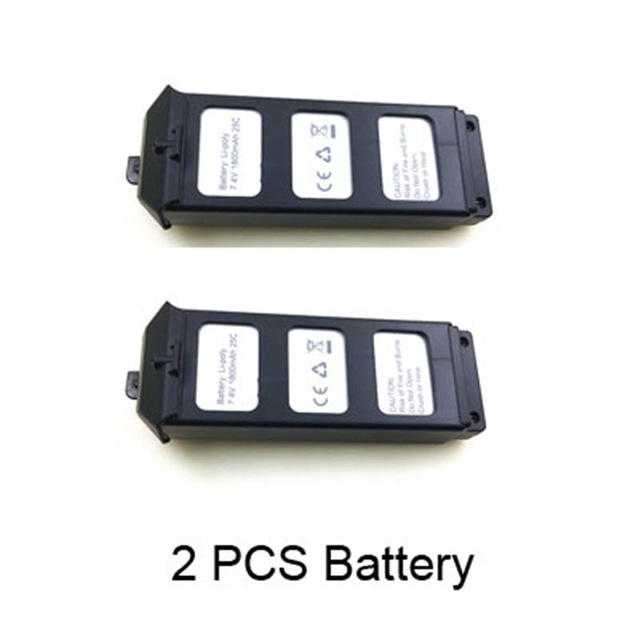 2PCS 7.4V 1800Mah Li-po Battery For MJX B5W Bugs 5W / JJPRO X5 Wifi FPV RC Quadcopter Drone Spare parts MJX B5W Battery B5W012 стоимость