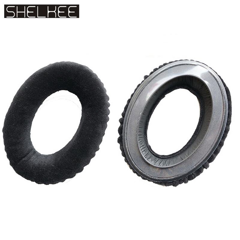 SHELKEE Replacement <font><b>Ear</b></font> <font><b>Pad</b></font> Cushion earmuff earpads For <font><b>Sennheiser</b></font> HD545 HD565 HD580 HD600 <font><b>HD650</b></font> headphones Repair parts image